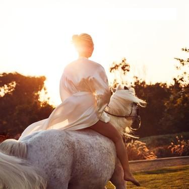 """Lady Gaga se despide de Arabella, la yegua a la que consideraba su """"ángel"""", después de ganar dos Critics' Choice Awards"""