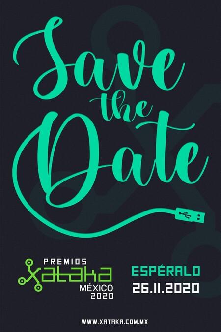 Premios Xataka Mexico 2020 Save The Date