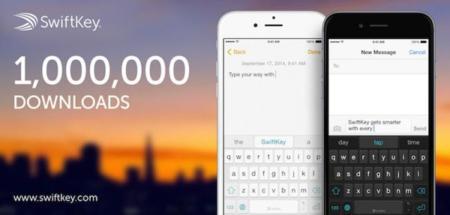 Había ganas de alternativas: SwiftKey para iOS 8 se ha descargado un millón de veces