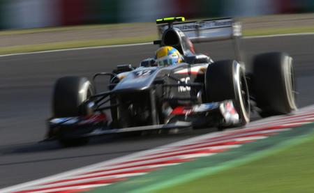Esteban Gutiérrez se reivindica en Suzuka con un séptimo puesto y sus primeros puntos