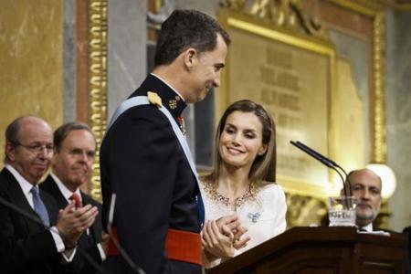 Las mejor vestidas de la proclamación de Felipe VI como nuevo Rey de España
