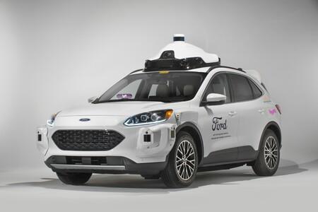 Ford Argo Ai Lyft Taxi Autonomo 6