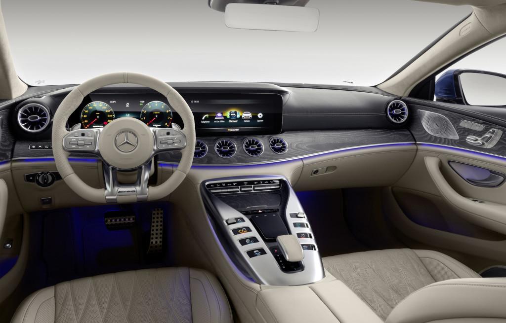 Foto de Mercedes AMG GT 4-Door Coupé (10/12)