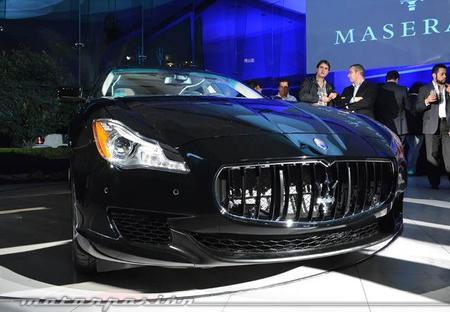 Maserati Quattroporte 2014: Listo para México