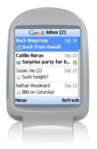 Gmail mobile se actualiza a la versión 1.5