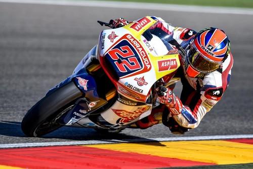Sam Lowes vence el Gran Premio de Aragón de Moto2 con Álex Márquez en el pódium