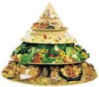Nueva pirámide de la alimentación indicada para niños y adolescentes