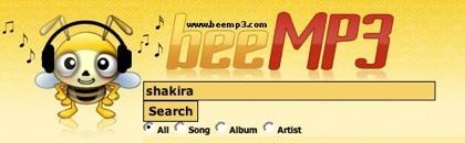 Beemp3, un motor de búsqueda más para archivos de música en mp3