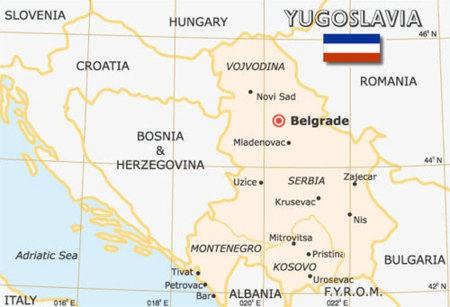 La ICANN elimina a Yugoslavia