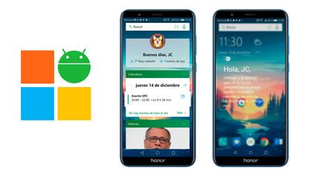 Microsoft actualiza su launcher para Android en la versión beta integrando la función Timeline