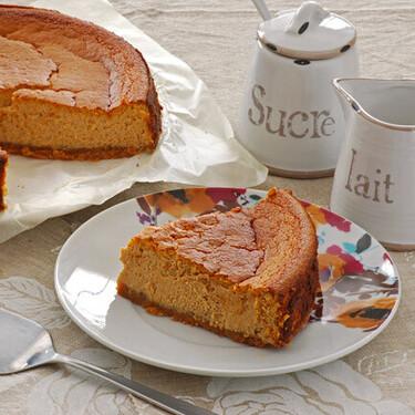 Tarta de queso y calabaza: receta dulce para un postre o merienda irresistible