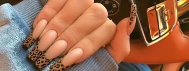 La manicura francesa se vuelve salvaje y se tiñe de leopardo, serpiente, cebra o vaca: 11 ideas animal print para lanzarte
