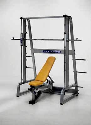 Trabajar dorsal con el remo en multipower