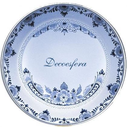 Diseña tu propio plato de Delft