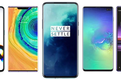 OnePlus 7T Pro, comparativa: así queda contra Xiaomi Mi 9 Pro, Galaxy Note 10+, Huawei Mate 30 Pro y resto de gama alta Android