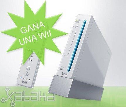 Concurso gana una Wii: recordatorio