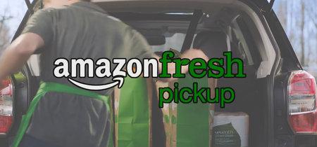 AmazonFresh Pickup: la compra directa a tu maletero comprando vía app y en 15 minutos