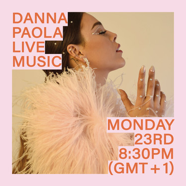 Danna Paola, protagonista de Élite, inaugura el próximo lunes el festival #MusicToStayHome de Stradivarius