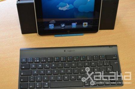 Logitech Tablet Keyboard, lo hemos probado