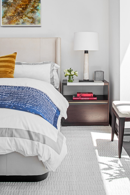 One57 Luxury Condo Bedside Table 1