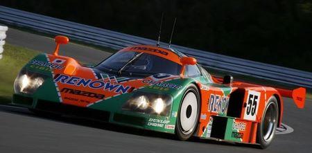 1991, el Mazda 787B rotativo gana las 24 horas de Le Mans calzado con Dunlop