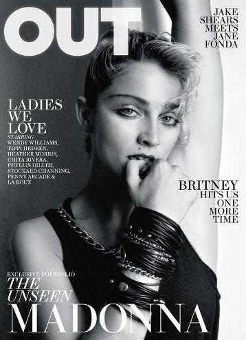 Madonna nos demuestra en Out Magazine que se depilaba (y muy bien) los sobaquillos