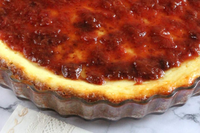 Receta clásica de tarta de queso