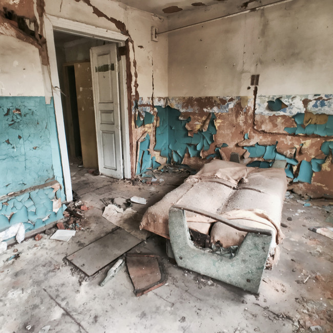 Farm House Zalyssia Chernobyl Exclusion Zone