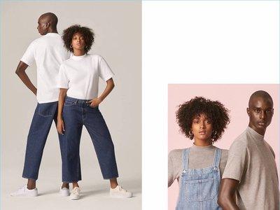 Denim unisex y sustentable en esta colección cápsula de H&M