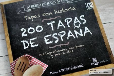 200 Tapas de España. Libro de cocina