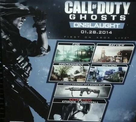 'Call of Duty: Ghosts' recibirá su primer DLC a finales de enero