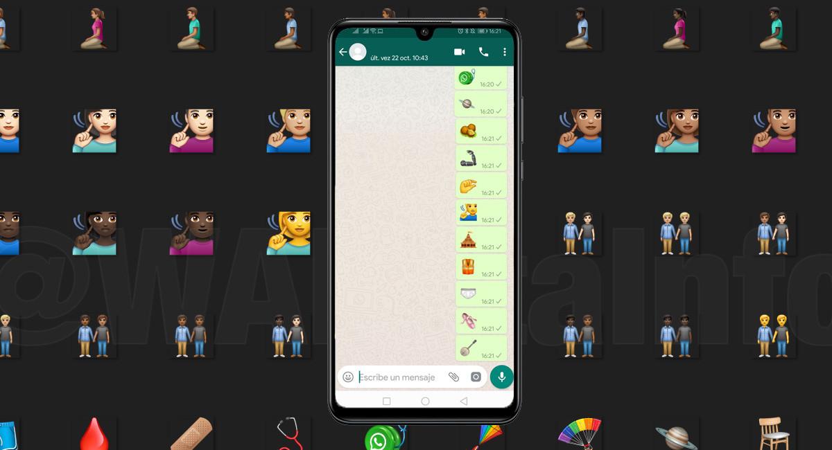 WhatsApp Beta añade los emojis de Unicode 12: llegan cebollas, yo-yos, hachas, gofres, banjos, mate y más