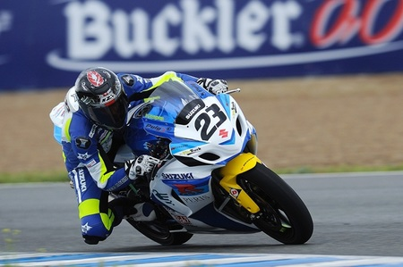 Adrián Bonastre en Jerez