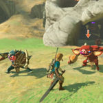 Link muestra cómo se maneja con las armas de The Legend of Zelda: Breath of the Wild