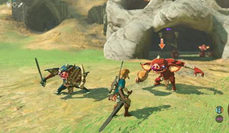 Link muestra cómo se maneja con las armas de The Legend of Zelda: Breath of the Wild