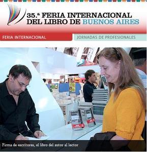 Comienza la 35° Feria Internacional del Libro de Buenos Aires