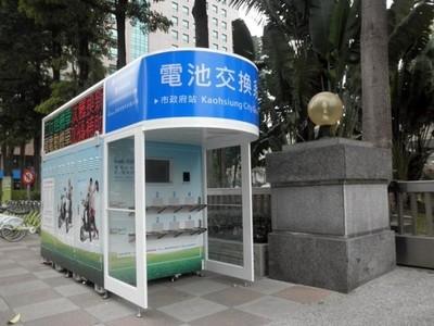 Las máquinas expendedoras de baterías para scooter eléctricos funcionan en Taiwan