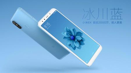 Xiaomi Mi 6X Azul