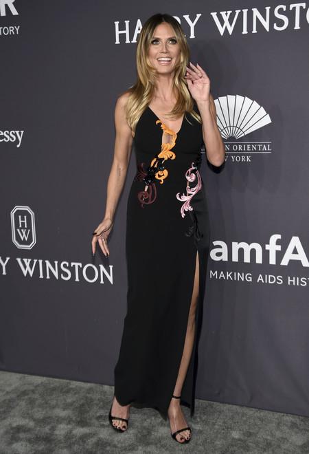 Heidi Klum gala amfar 2017 nueva york
