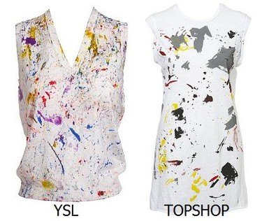 Yves Saint Laurent en TopShop