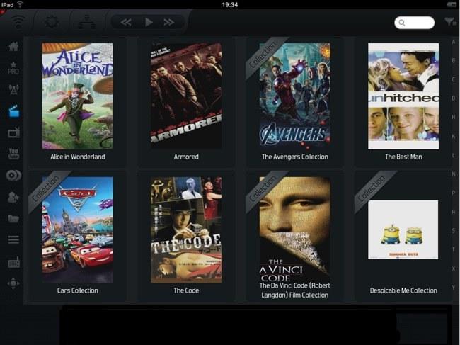 Constellation, el mejor software para iOS para el control remoto de XBMC