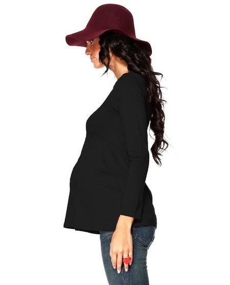 Moda embarazadas Otoño 2014: camisetas básicas, un imprescindible