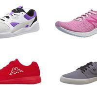 Chollos en tallas sueltas de zapatillas DC Shoes, Kappa, New Balance o Puma por menos de 30 euros en Amazon