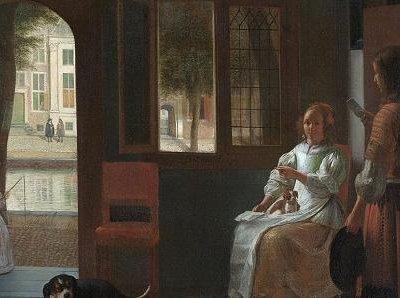iPhone hasta en pintura: Tim Cook 'cree' haber visto uno en un clásico del S XVII