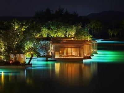 El paraíso podría ser este hotel en China, el único del mundo con océano privado