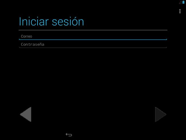 Android 4.3 inicio