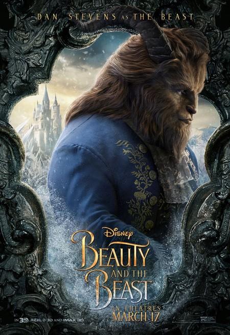 'La bella y la bestia', carteles de los protagonistas