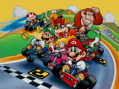 El primer Mario Kart iba a tratarse originalmente de un prototipo multijugador de F-Zero