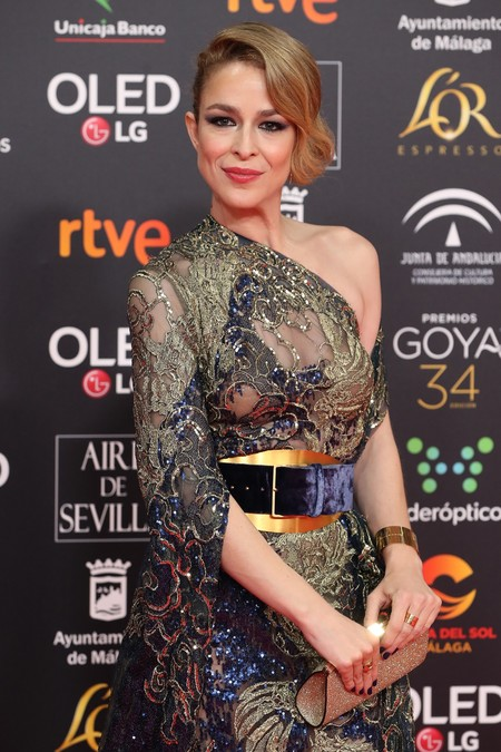 Mientras todas apuestan por el blanco, Silvia Abascal deslumbra con un espectacular vestido de Elie Saab