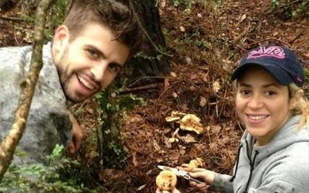Llega el otoño, llegan las setas y con ellas Shakira y Piqué para recolectarlas ¡Ea!